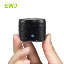 Load image into Gallery viewer, Mini Bluetooth Speaker with Carry Case, Bass Radiator,  EWA A106Pro Portable Speaker Bluetooth 5.0 for Outdoors, Home, Shower