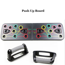 Load image into Gallery viewer, Push Up Board Rack Multifunctional Exercise Stands Foldable Body Slimming Training Gym Equipment