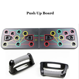 Push Up Board Rack Multifunctional Exercise Stands Foldable Body Slimming Training Gym Equipment