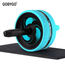Load image into Gallery viewer, GOBYGO Ab Roller with Mat & Skipping Rope