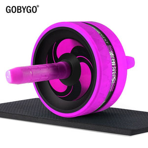 GOBYGO Ab Roller with Mat & Skipping Rope