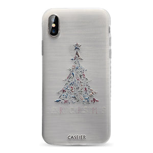 CASEIER Lovely Christmas Phone Case For iPhone 6 6s 7 8Plus XS Max XR 11 Pro Max 12