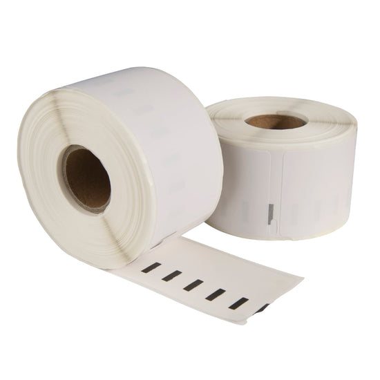 Dymo 11356 / S0722560 compatible labels, 89 mm x 41 mm, 300 etiketten per rol, wit, permanent