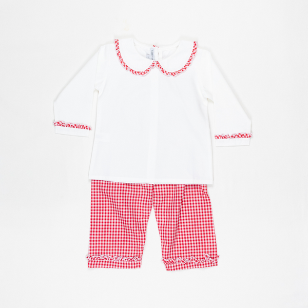 Holly Jolly Girls Pants Set