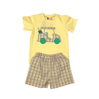 Going Golfing Boys Shorts Set