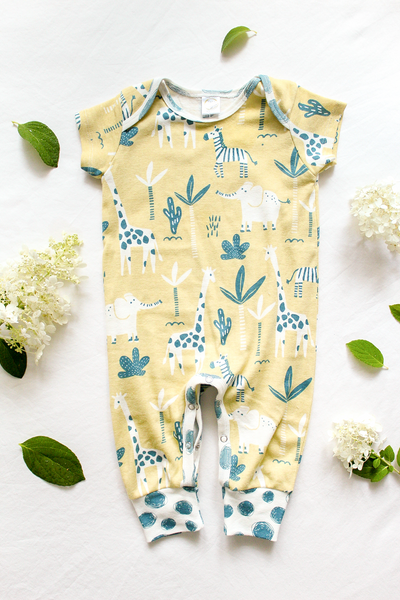 Jungle Picnic Romper