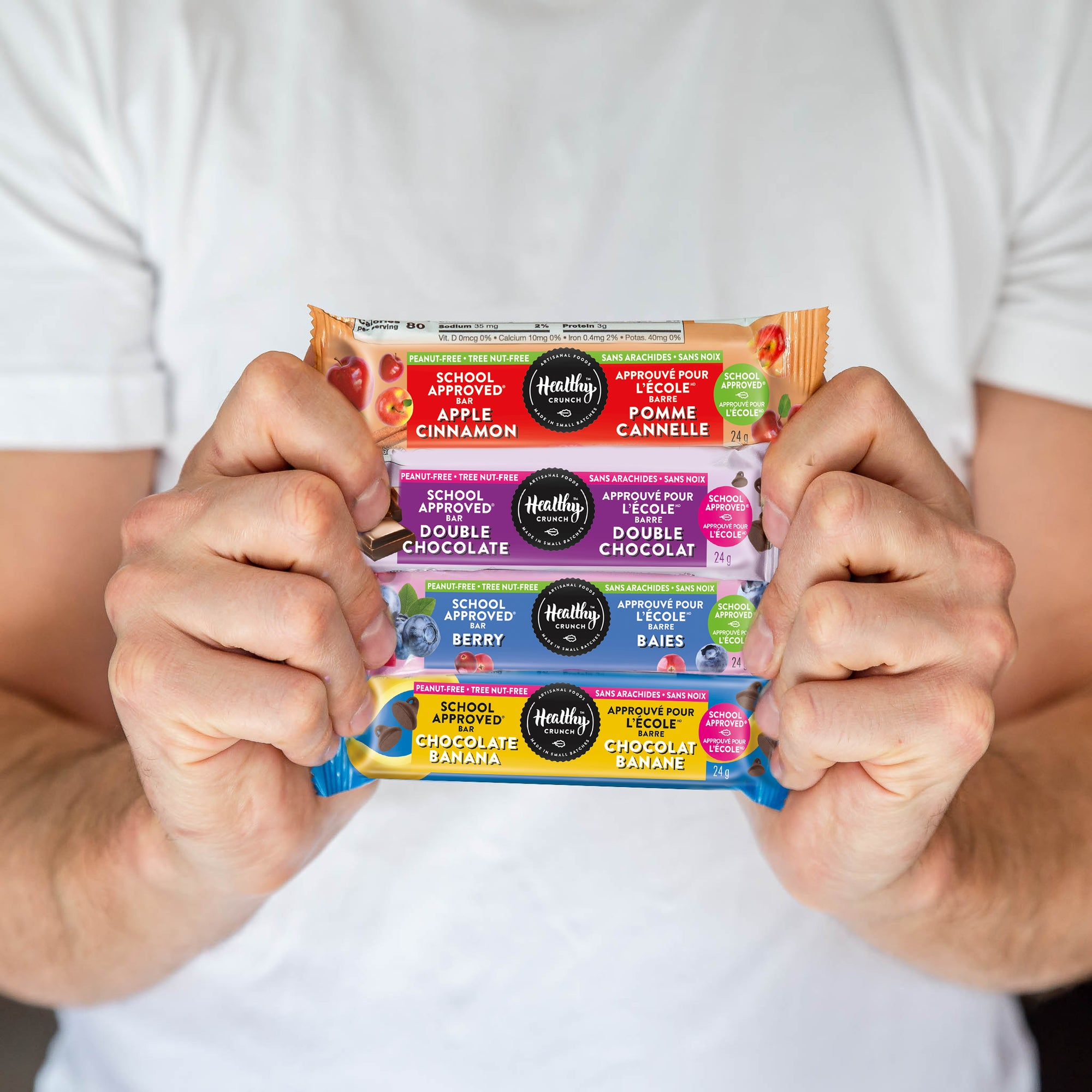 Product Review: Healthy Crunch Granola Bars Back To School Gift Guide 2020