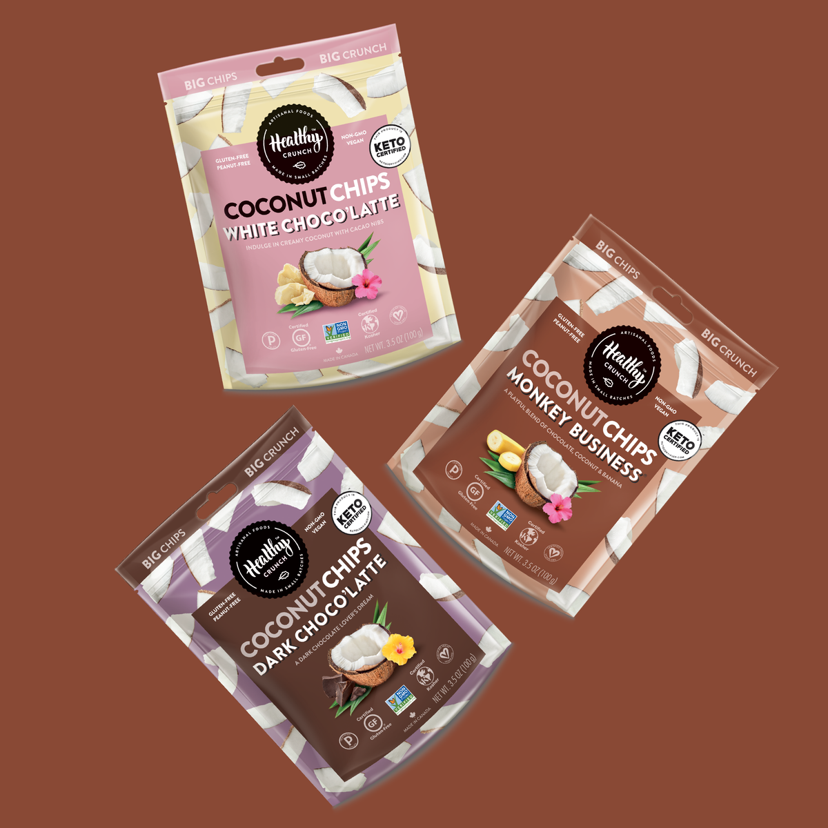 Coconut Chips Chocolate Lover's Bundle