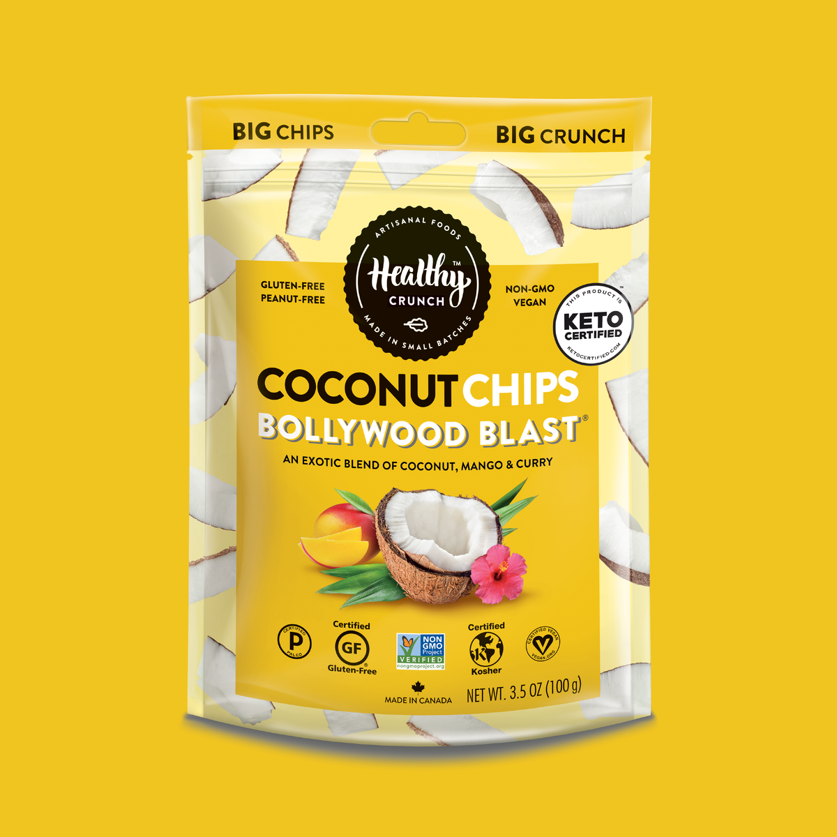 Bollywood Blast Coconut Chips