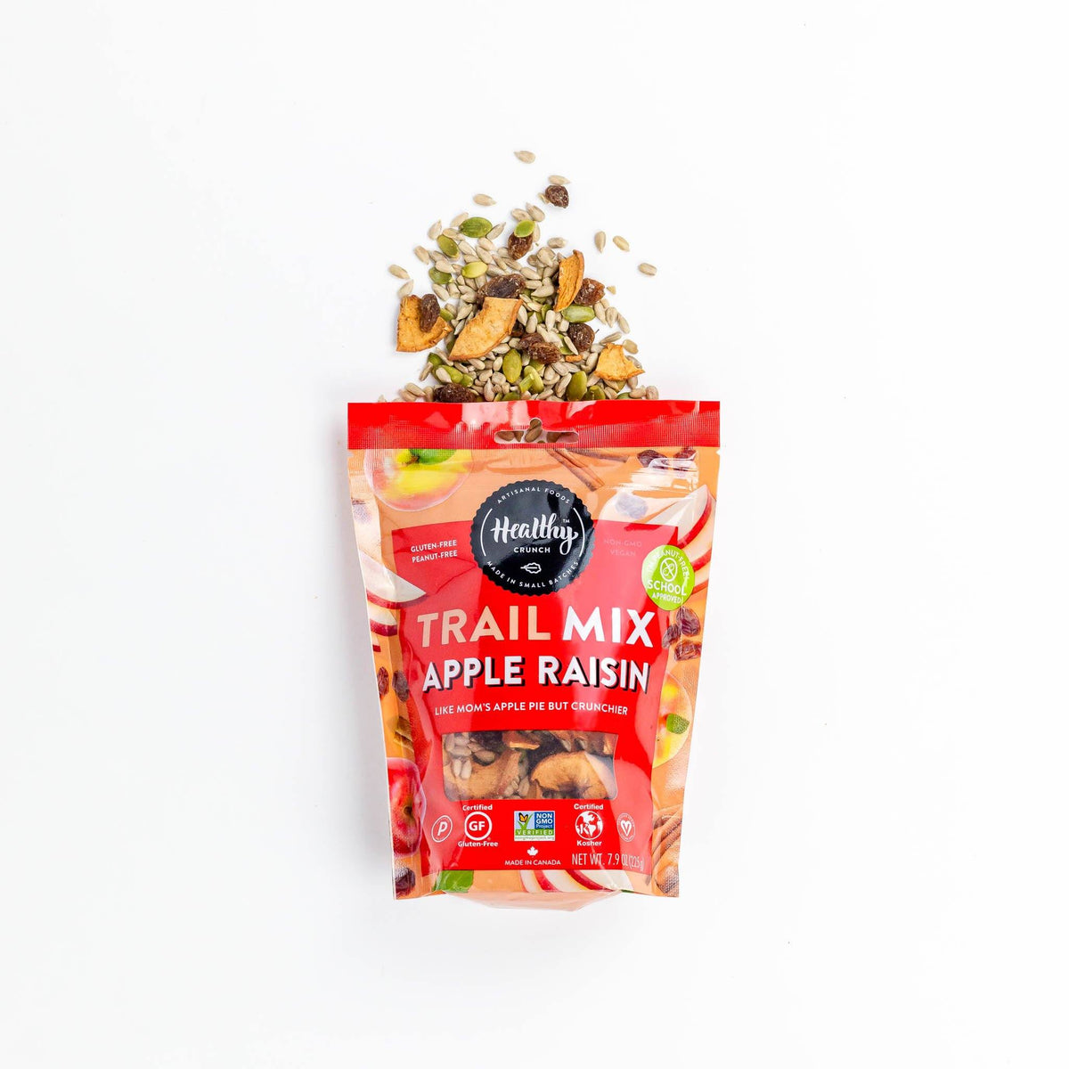 Apple Raisin Trail Mix