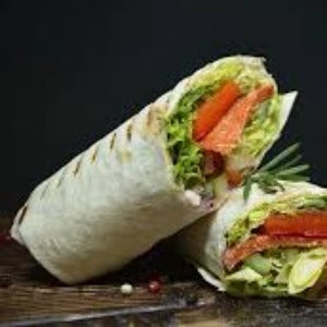 Italian Grilled Vegetable Wrap