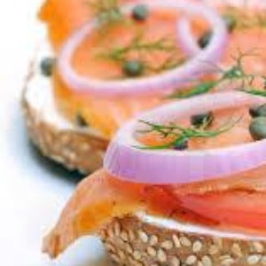 Fresh Lox on a Bagel Breakfast Combo