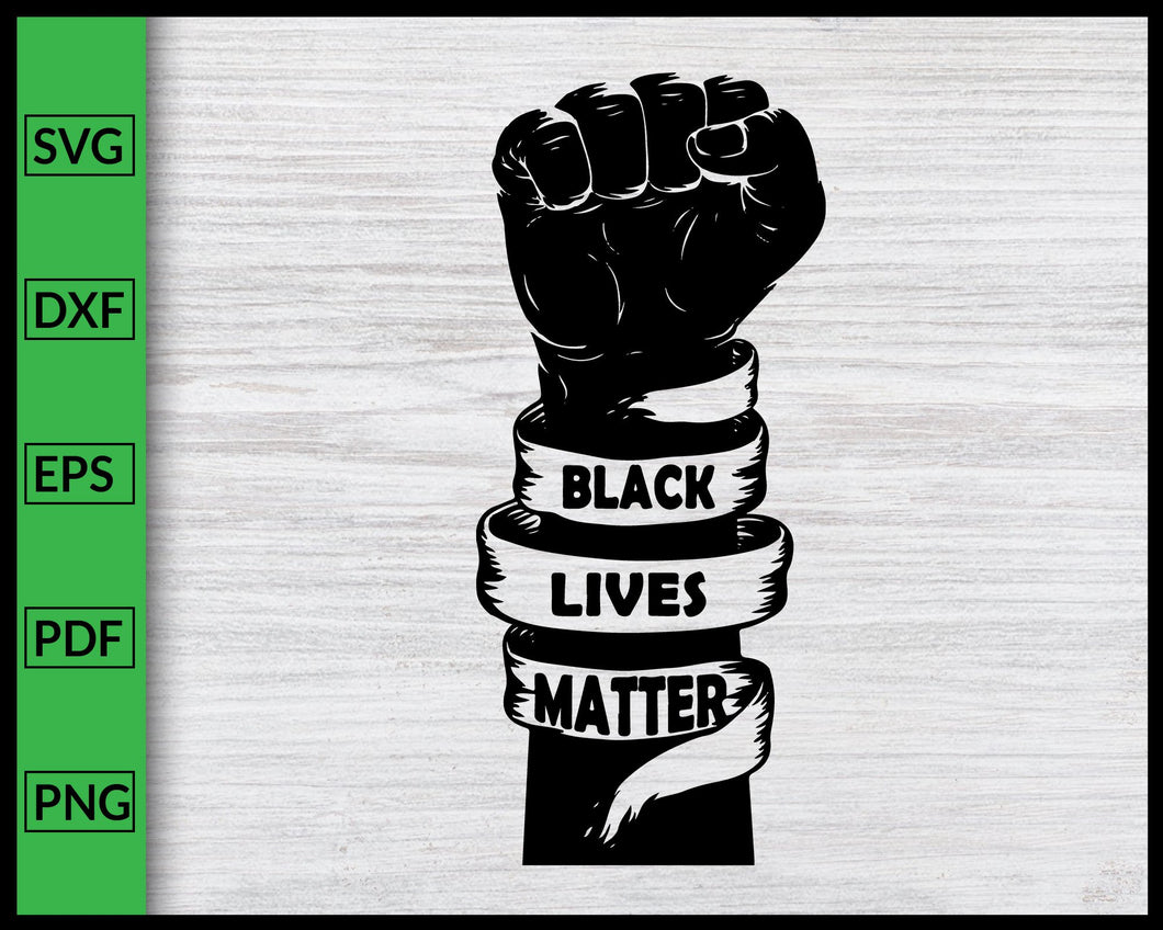 Black Lives Matter Svg Black History Month Svg African Black Pride Svg I Can't Breathe Svg Black Queen Svg Justice Svg BLM Svg Cut File
