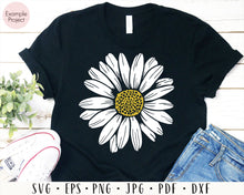 Load image into Gallery viewer, Daisy svg Flower svg Daisy flower svg Sunflower svg Daisy decal svg Daisy png Floral svg Wedding flower svg Daisy clipart Daisy sublimation