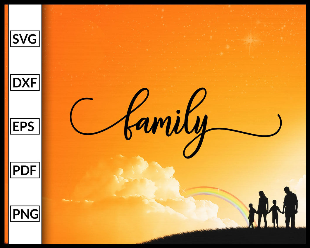 Family Svg Quotes Svg Inspirational Quotes Svg Cut File For Cricut Silhouette eps png dxf Printable Files