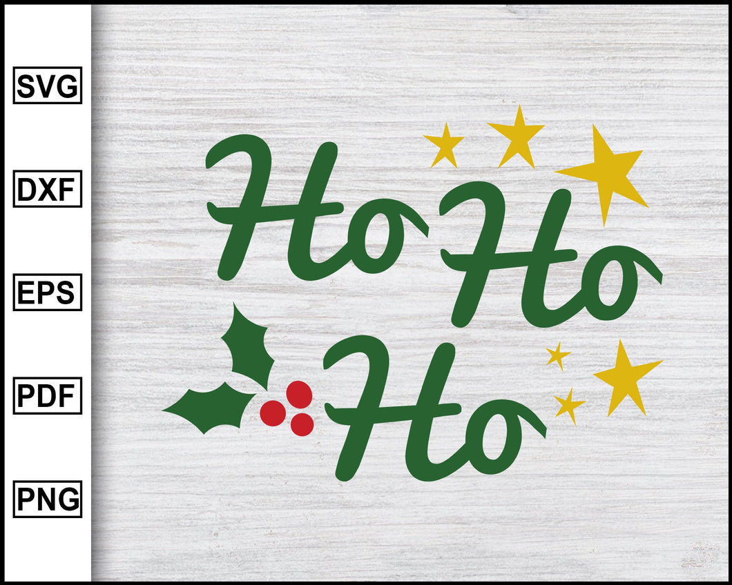Ho Ho Ho Svg, Christmas Svg, Christmas 2020 Svg, Xmas Svg, Funny Christmas Quotes Svg, Ugly Christmas Svg eps png dxf