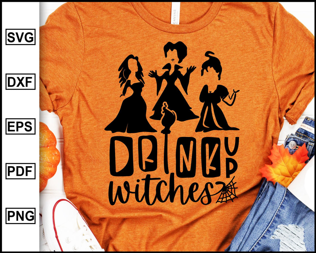 Drink Up Witches Halloween svg, Sanderson Sister Svg