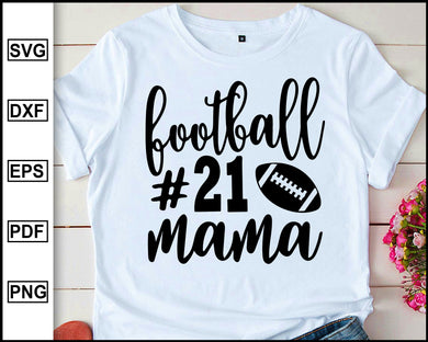 Football Mama svg, Football mom Svg, Football Svg, Football Cutting Files, Football Silhouette And Cricut Files, Football Shirt svg, Iron on