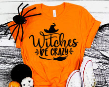 Load image into Gallery viewer, Witches Be Crazy Svg Halloween Svg Halloween Costume Svg Halloween Party Svg Cameo Cricut Halloween Shirt svg eps png dxf Printable Files