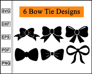 Bow tie svg , Bow SVG, Bow vector, Bow clipart, Bow svg bundle, Cheer Bow Svg, cut file for cricut eps png dxf silhouette cameo