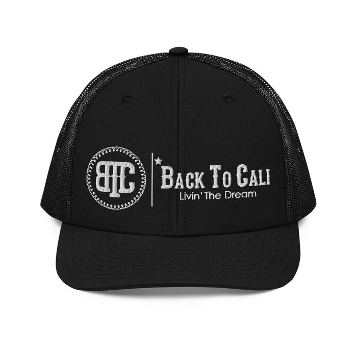 BACK TO CALI TRUCKER HAT