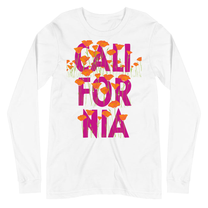 CALIFORNIA POPPY SEED LONG SLEEVE TEE