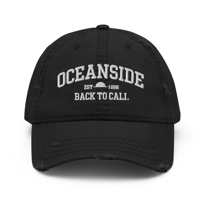OCEANSIDE EST DISTRESSED HAT