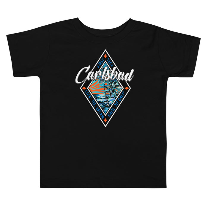 CARLSBAD GRAPHIC Toddler Short Sleeve Tee