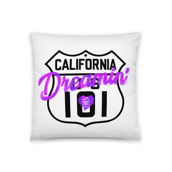 California Dreamin' Pillow