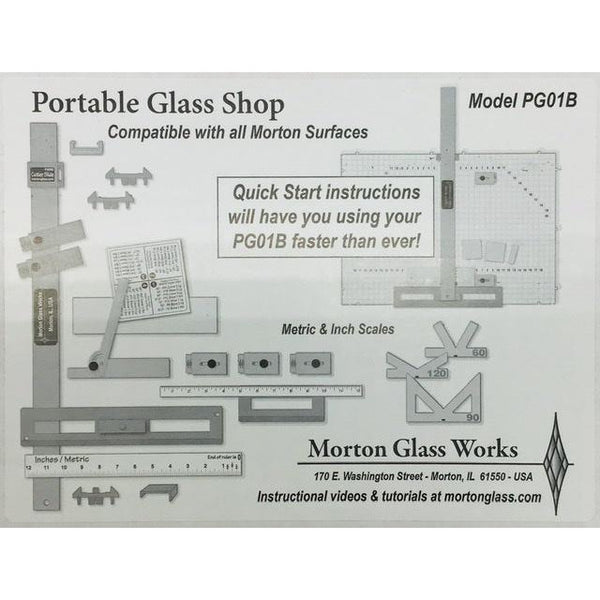 Morton Portable Glass Shop PG01B