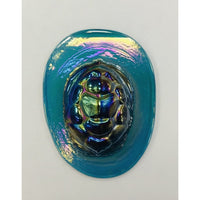 Pressed Glass Jewels - Irid Turtleback