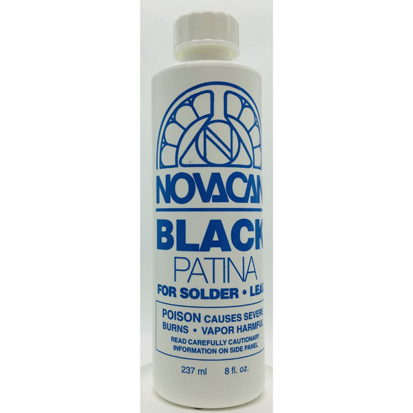 Novacan Black Patina For Solder, 8 oz