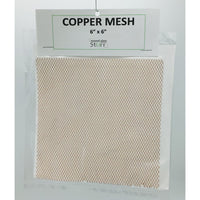 "Copper Mesh, 6"" x 6"" sheet"