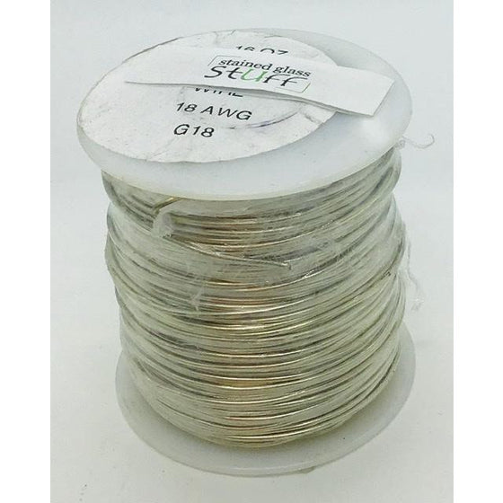 Tinned Copper Wire, 18 gauge, 16 oz roll