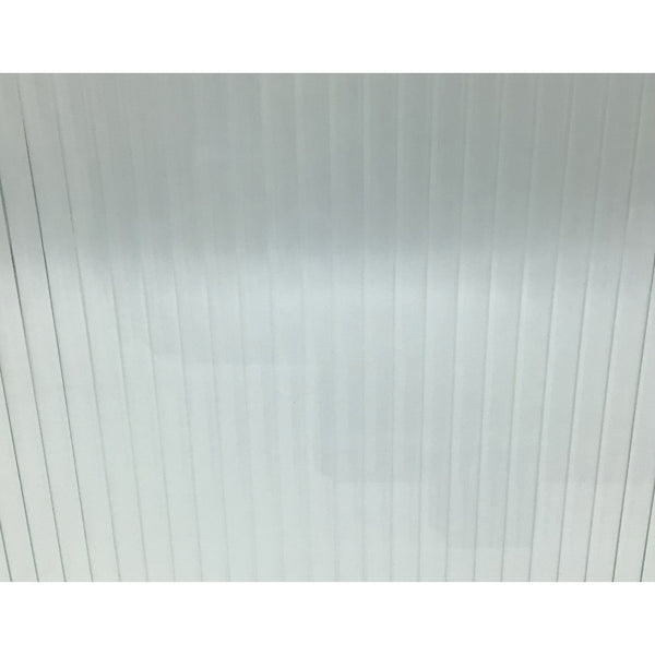 "1/2"" Reeded 4mm Architectural Glass"