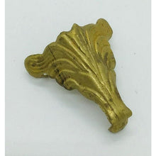 Brass Box Foot