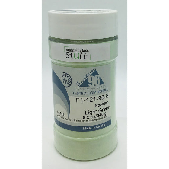 Frit, Light Green Transparent, 121-96-8
