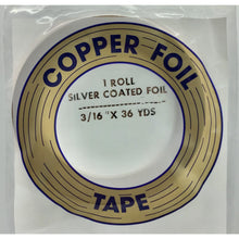 "Edco 3/16"" x 36 yards silver coated foil tape"