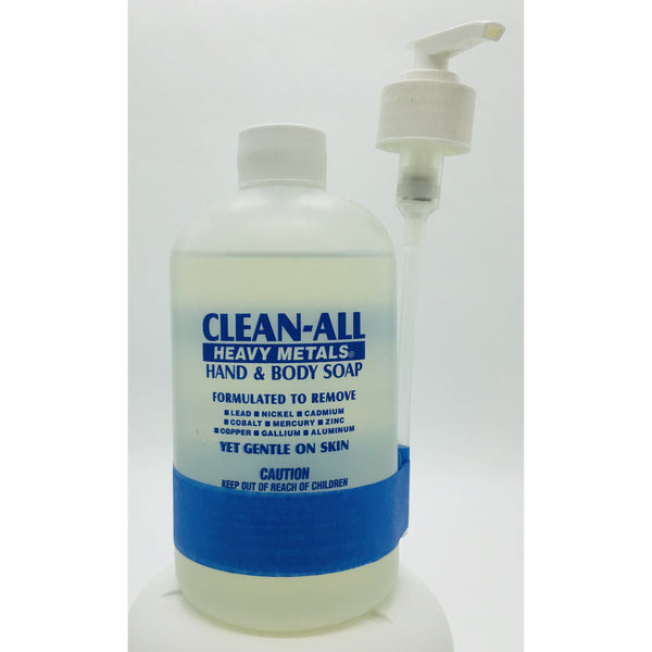 Clean-All Heavy Metals Hand & Body Soap