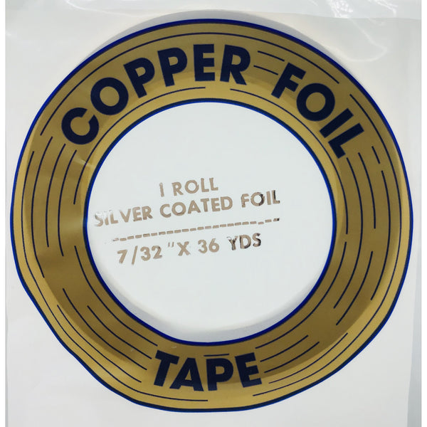 "Edco 7/32"" x 36 yards silver coated foil tape"