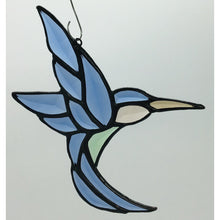 Beveled Hummingbird Suncatcher