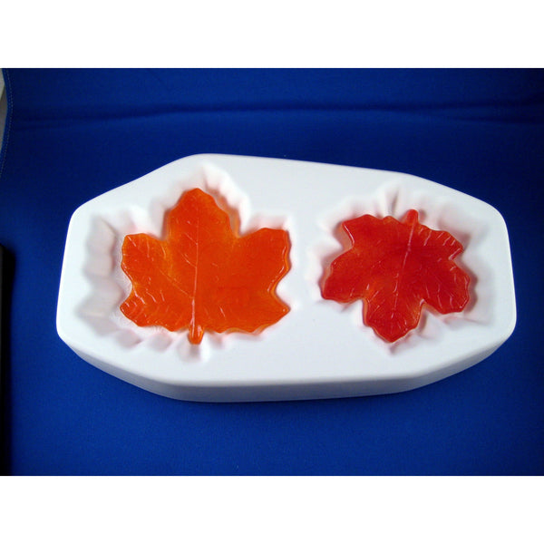 Colour de Verre Maple Leaves Mold with Slumper