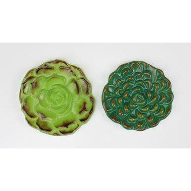 Creative Paradise Two Succulents Mold LF171