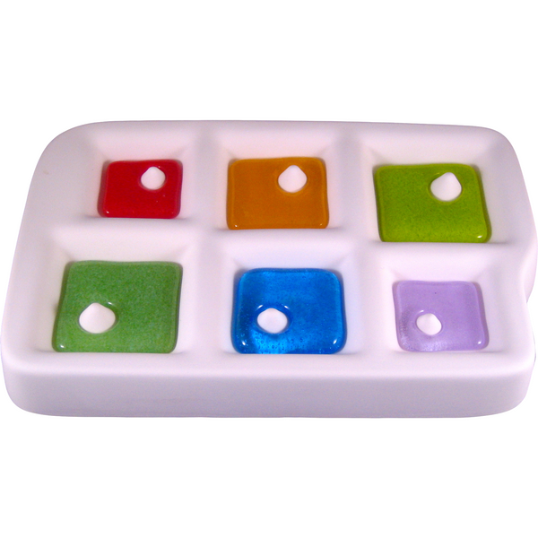 Colour de Verre Offset Square Pendants Mold