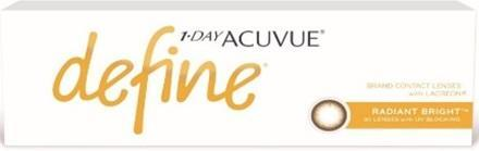 J&J 1-Day Acuvue Define Radiant Bright
