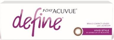 J&J 1-Day Acuvue Define Vivid