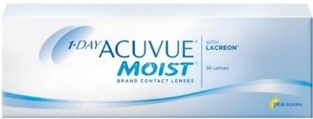 J&J 1-Day Acuvue Moist 30 Pack