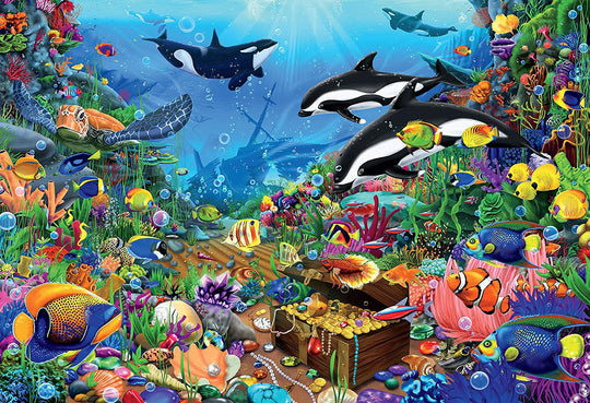 Ceaco Jewels of The Deep Jigsaw Puzzle (2000 Pieces) | I ...