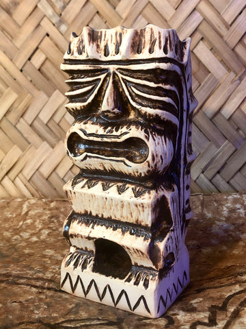 Tioti Brown/White Rub Mug