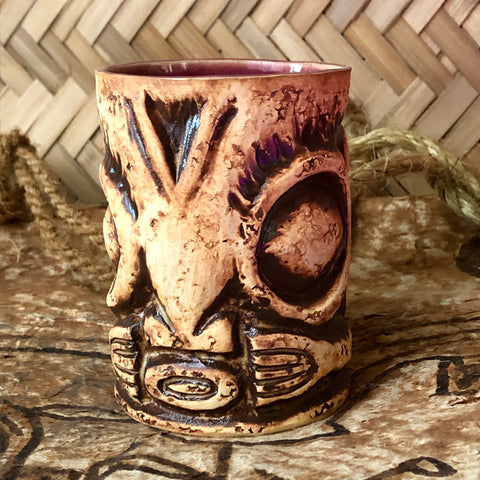 Marquesan Big Eye Stone Mug